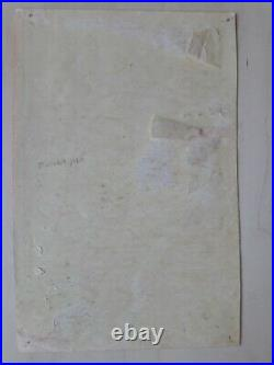 Original 1st Print Grateful Dead Acid Test Concert Poster Handbill RARE! 2 Known