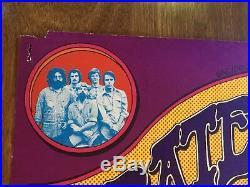 Original AOR 4.187 Grateful Dead 1971 Poster Hill Auditorium Grimshaw New Riders