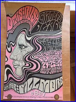 Original Bill Graham #51 Grateful Dead Poster