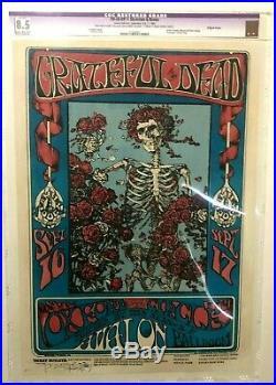 Original First Print CGC 8.5 FD26 Grateful Dead Avalon Poster