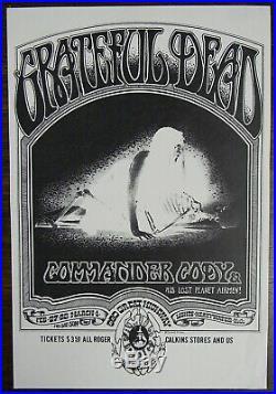 Original GRATEFUL DEAD Family Dog Great Highway concert flyer/ handbill 1970