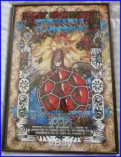 Original Grateful Dead 1995 Summer Tour Poster Limited Edition Michael Everett