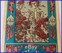 Original Grateful Dead Poster 1966 Fd-26 (3) Family Dog Bindweed Mouse Studios