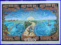Original Grateful Dead tryptic 3 poster(s) Chicago Soldier Field Dubois July2015
