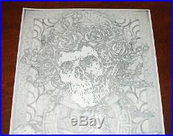 Original Michael Everett Graphite Bertha Grateful Dead Art not Poster Print 2008