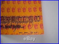 Original N/M first printing 1967 Grateful Dead Trip or Freak poster