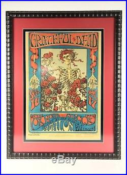 Original September 16 & 17 1966 Grateful Dead Avalon Ballroom Family Dog Poster