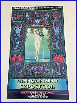 Original Wallkill Ny Woodstock Concert Poster