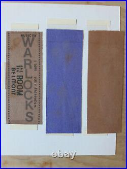 Original Warlocks Concert Tickets Grateful Dead 1965 Only Known (3) Not Poster