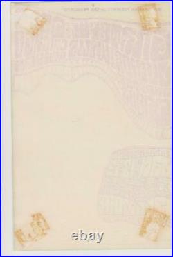 Orignal BG45 handbill BLANK BACK / GRATEFUL DEAD/ THE DOORS / JUNIOR WELLS 1967