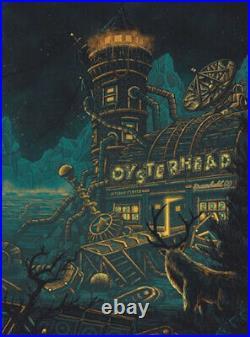 Oysterhead 1STBANK Center CO 2/15/20 Foil Poster S/N Luke Martin Grateful Dead