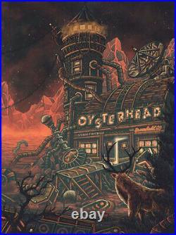 Oysterhead Poster 1STBANK Center CO. 2/15/20 N2 Luke Martin Phish Grateful Dead