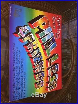 PHIL LESH FRIENDS(Grateful Dead) Poster Spring 2001 Pat Ryan Signed Phil Lesh