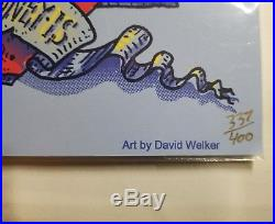 Phil Lesh Bob Weir Furthur 2012 Brooklyn Coney Island David Welker Poster