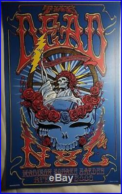 Phil Lesh Bob Weir The Dead 4.25.2009 Madison Square Garden NYC Poster