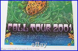 Phil Lesh & Friends Fall Tour 2001 Michael Everett Concert Poster grateful dead