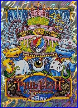 Phil Lesh and (&) Friends 76 Birthday Show Capitol Theater AJ Masthay Lava Foil