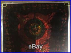 Pigpen Grateful Dead Original Vintage Blacklight Poster Wilfred Satty Overprint