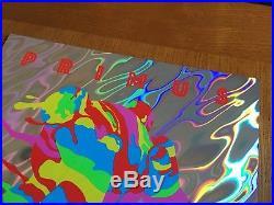 Primus 10/21/17 Houston Tx Jermaine Rogers Lava Foil Variant Ae Poster Print