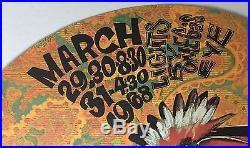 RARE 1ST PRINTING Kaleidoscope #5 Bo Diddley/Doors Concert Poster AOR 3.84 BG FD