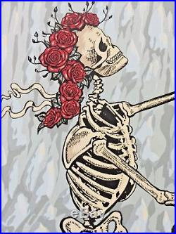 RARE! Dead and & Company Eugene OR 2018 AP Poster Print SIGNED grateful bob weir
