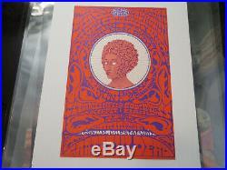 RARE First printing AOR 2.329 1969 Grateful Dead/Rio Nido Earhead poster