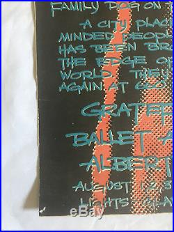 RARE Grateful Dead Family Dog poster FD ORIGINAL Great Highway 1969