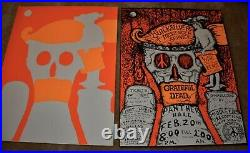 RARE Grateful Dead February 1970 Panther Hall Poster With RARE POSTER PROOF! NR