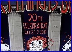 RARE Grateful Dead Poster LOW #5/100 ARTIST Signed STANLEY MOUSE Art Litho print