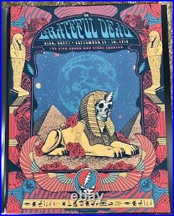 RARE Grateful Dead milestone 5 poster set! Justin Helton Status Serigraph