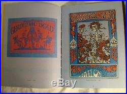 RARE hippie poster art book Mouse & Kelley (1979-1st printing)