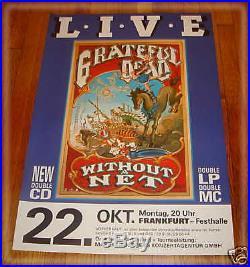 RICK GRIFFIN- Grateful Dead FRANKFURT 10-22-90 POSTER