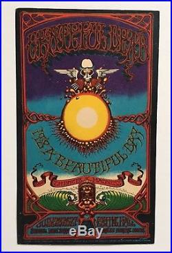 RICK GRIFFIN Hawaii AOXOMOXOA handbill GRATEFUL DEAD bg AOR fd 1st print 1969