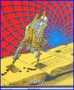 Rare 1960's Grateful Dead Promo Poster AOR 2.190 Bob Fried Deadheads