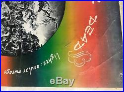 Rare Collectable 1969 Grateful Dead Concert Series Poster