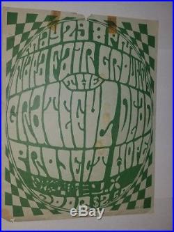 Rare Grateful Dead Handbill 1967 Napa ULTRA RARE