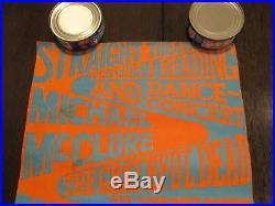 Rare Original The Grateful Dead Reading & Dance Festival Concert Poster 1966