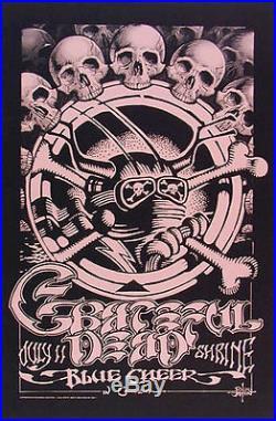 Rare Pink Rick Griffin Grateful Dead Shrine Poster