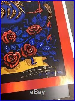 Richard Biffle Grateful Dead Fare Thee Well Concert Poster ARTIST PROOF
