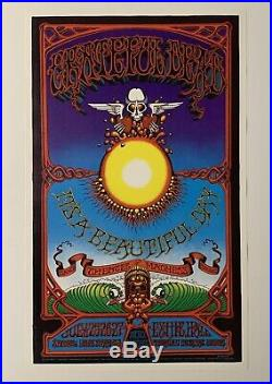 Rick Griffin Grateful Dead in Hawaii Original 1969 Concert Poster
