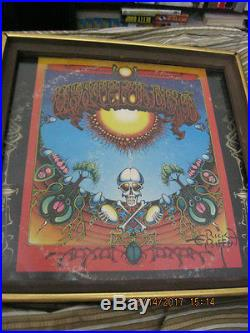 Rick Griffin signed Aoxomoxoa 1969 original record, 1st pressing/original mix WB