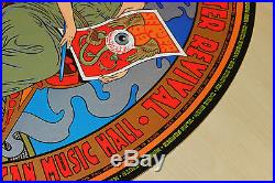 Rock Poster Celebration SF Screen Print Poster from 1999 Chuck Sperry Firehouse