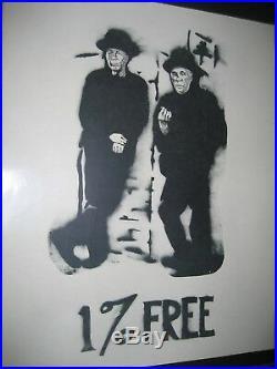 S. F. Mime Troupe Poster 1967 1% FREE Fillmore Era