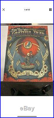 SIGNED & NUMBERED #1154/2015 Soldier Field Chicago Grateful Dead Justin Helton