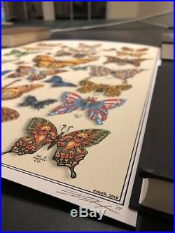 SIGNED & NUMBERED! Dead & Co. 2o19 Tour VIP Limited Poster by artist EMEK