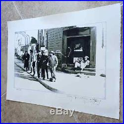 Stanley Mouse Numbered Grateful Dead Fine Art Print Signed Workingman's Poster