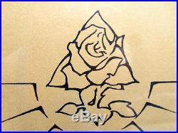 STaNLEY MOUSe SiGNeD FRaMeD GOLD PRINT #42/350 EGyPT GRaTeFuL DeAD JeRRY GaRCia