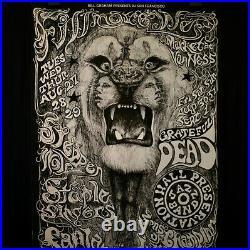 Santana Grateful Dead Steppenwolf Lee Conklin Nr Mint 2nd pnt Bill Graham poster