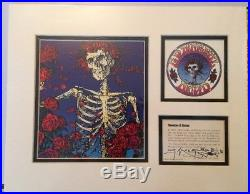 Skeleton & Roses Hamilton LE Signed & Numbered Stanley Mouse Grateful Dead