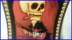 Stanley Mouse Art Skull Poster Signed 18 X 13